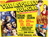 The Asphalt Jungle - 1950 - Movie Poster
