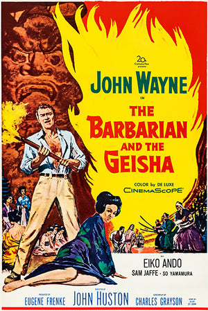 The Barbarian & The Geisha - 1958 - Movie Poster