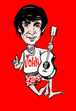 The Beatles - John Lennon - 1965 - Promotional Caricature Poster