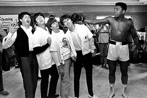 The Beatles - Muhammad Ali - 1965 - Portrait Magnet
