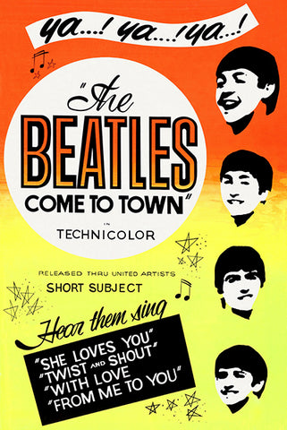 The Beatles Come To Town - 1963 - Movie Poster