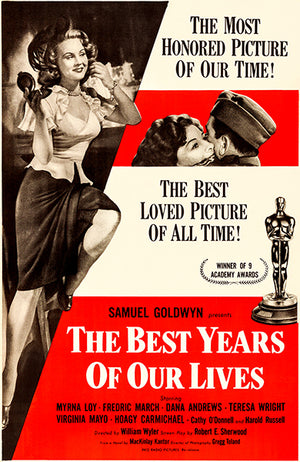 The Best Years Of Our Lives - 1954 - Movie Poster Magnet