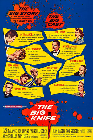 The Big Knife - 1955 - Movie Poster Magnet