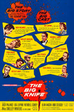 The Big Knife - 1955 - Movie Poster
