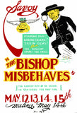 The Bishop Misbehaves - 1938 - Federal Theatre WPA Mug