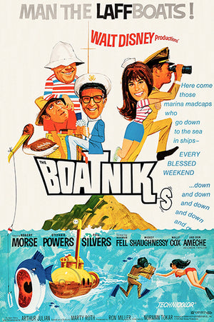 The Boatniks - 1970 - Movie Poster Magnet