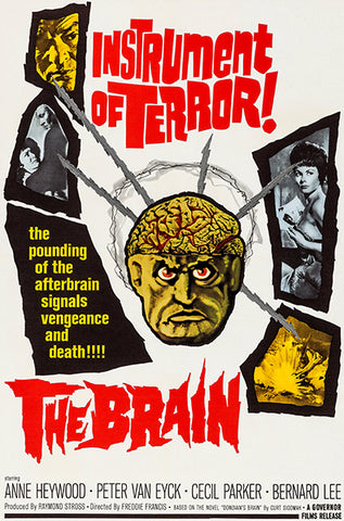The Brain - 1964 - Movie Poster