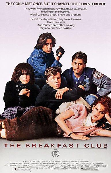 The Breakfast Club - 1985 - Movie Poster Magnet