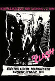 The Clash - 1977 - Electric Circus - Manchester - Concert Poster