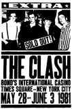 The Clash - Bond's International Casino - New York - 1981 - Concert Poster Mug