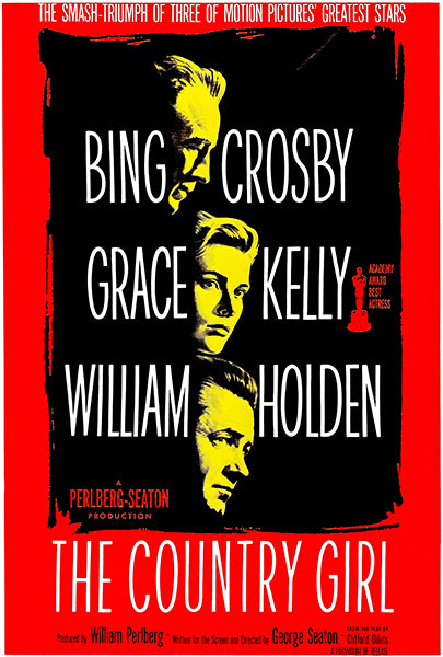 The Country Girl - 1954 - Movie Poster