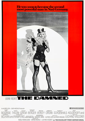 The Damned - 1970 - Movie Poster