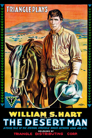 The Desert Man - 1917 - Movie Poster