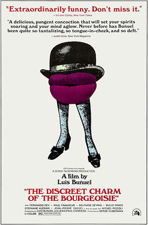 The Discreet Charm Of The Bourgeoisie - 1972 - Movie Poster