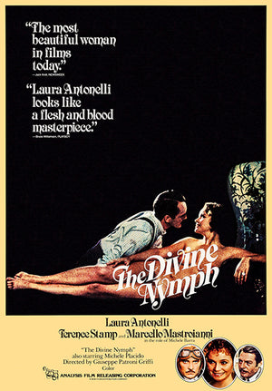 The Divine Nymph - 1979 - Movie Poster Magnet