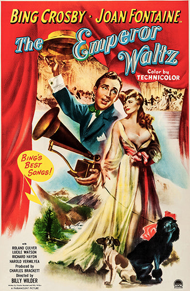 The Emperor Waltz - 1948 - Movie Poster Magnet