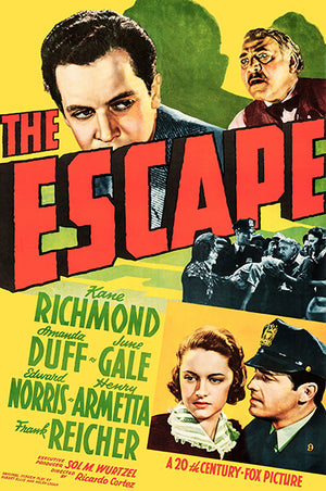 The Escape - 1939 - Movie Poster Magnet