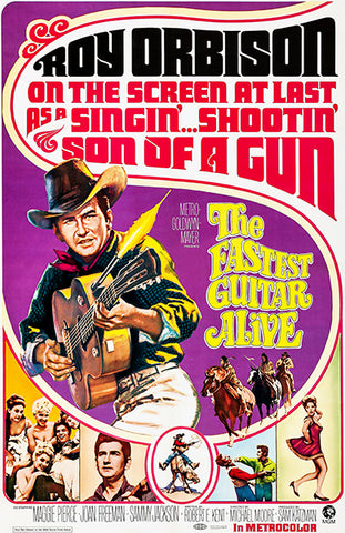 The Fastest Guitar Alive - Roy Orbison - 1967 - Movie Poster