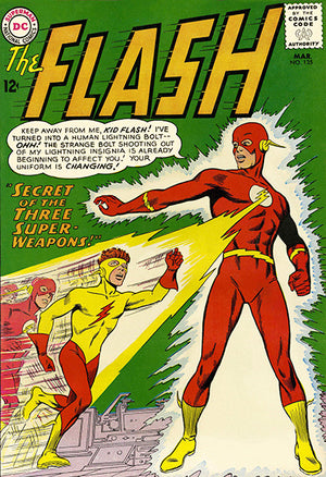 The Flash #135 - March 1963 - Comic Book Cover Poster