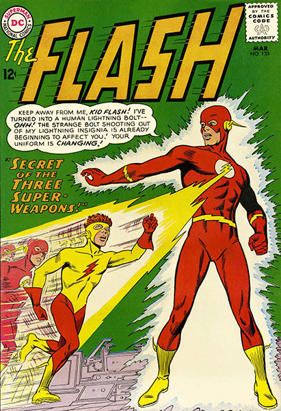 The Flash #135 - March 1963 - Comic Book Cover Mug
