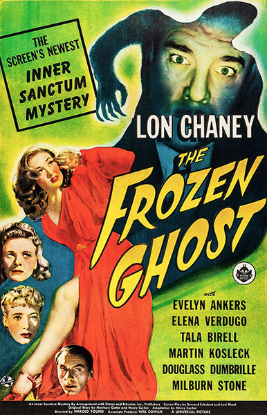 The Frozen Ghost - 1944 - Movie Poster