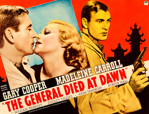 The General Died At Dawn - 1936 - Movie Poster