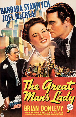 The Great Man's Lady - 1941 - Movie Poster