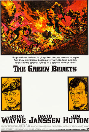 The Green Berets - 1968 - Movie Poster