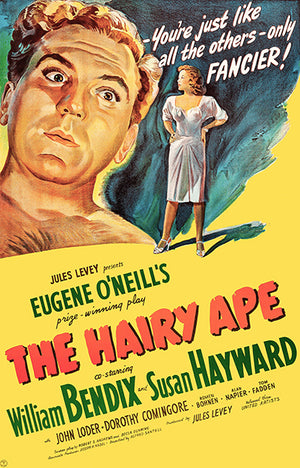 The Hairy Ape - 1944 - Movie Poster