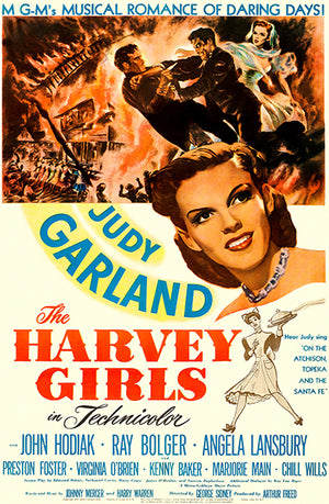 The Harvey Girls - 1946 - Movie Poster