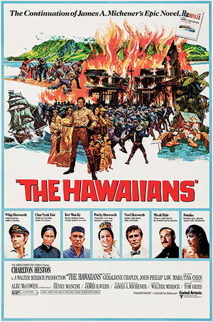 The Hawaiians - 1970 - Movie Poster Magnet
