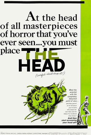 The Head - 1959 - Movie Poster Magnet