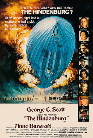 The Hindenburg - 1975 - Movie Poster