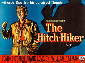 The Hitch-Hiker - 1953 - Movie Poster Magnet
