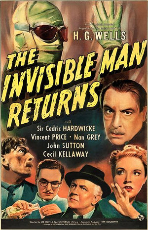 The Invisible Man Returns - 1940 - Movie Poster Mug