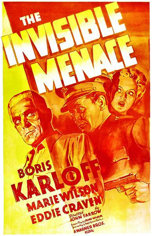 The Invisible Menace - 1938 - Movie Poster Mug