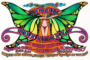 The Iron Butterfly - Freedom Hall Louisville KY - 1969 - Concert Poster Mug