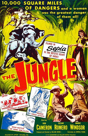 The Jungle - 1952 - Movie Poster Mug