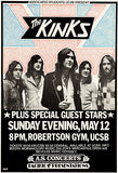 The Kinks - 1974 - Concert Poster