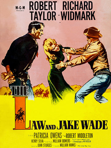 The Law And Jake Wade - 1958 - Movie Poster