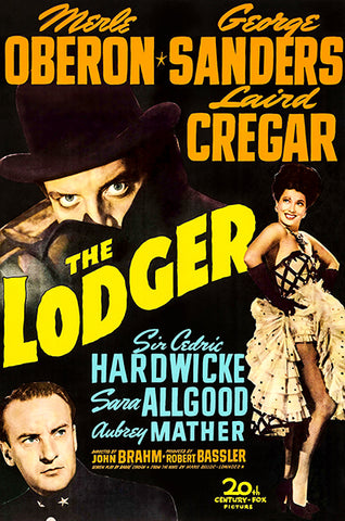 The Lodger - 1944 - Movie Poster