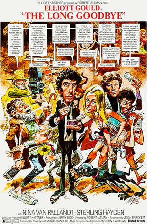 The Long Goodbye - 1973 - Movie Poster Magnet