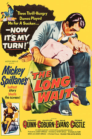 The Long Wait - 1954 - Movie Poster Magnet