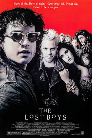 The Lost Boys - 1987 - Movie Poster