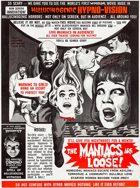 The Maniacs Are Loose! - 1964 - Movie Poster