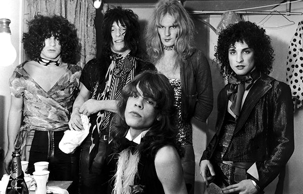 The New York Dolls - 1974 - Band Portrait Poster