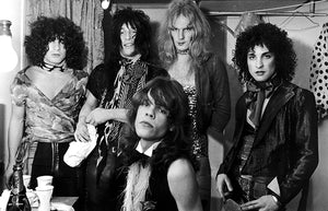 The New York Dolls - 1974 - Band Portrait Magnet
