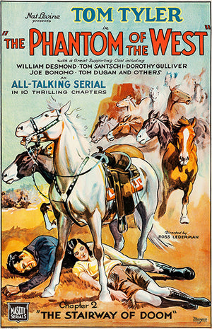 The Phantom Of The West - 1931 - Movie Poster