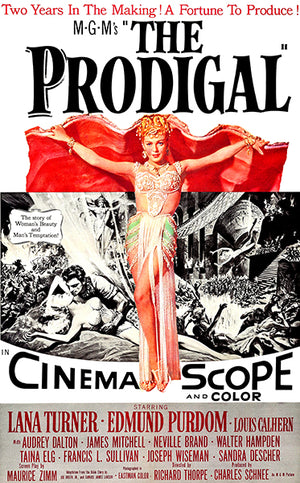The Prodigal - 1955 - Movie Poster