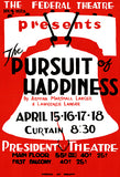 The Pursuit Of Happiness - 1937 - Federal Theatre WPA Mug